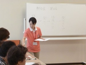 7月予防教室♪