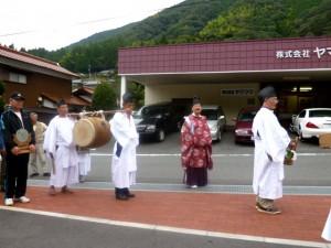 秋の米川神社祭り