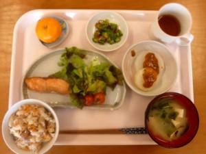 のんびり村のお昼ご飯