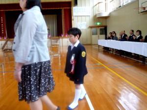 米川小学校入学式