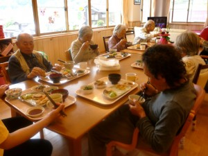 のんびり村の食事