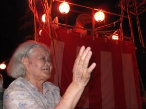 米川の盆踊り