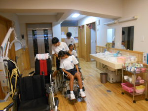 川下中学生の職場体験