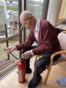 消防訓練&お誕生日会😊