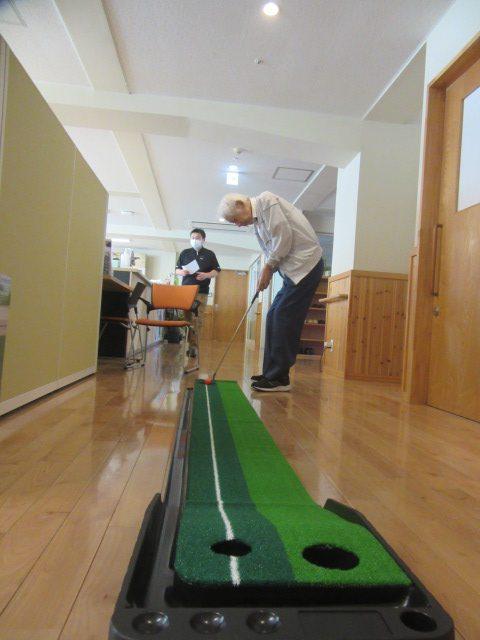 パターゴルフ開始‼
